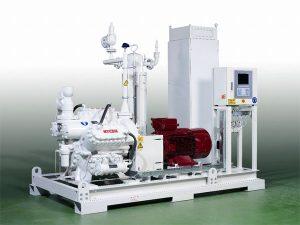 MYCOM ammonia heat pump by Mayekawa